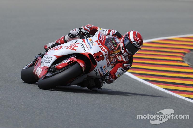 Team Aspar German GP Race Report