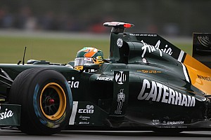 Formula 1 Chandhok Admits Aim For 2012 Team Lotus Race Seat