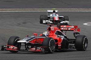 Formula 1 Marussia Virgin German GP - Nurburgring Race Report