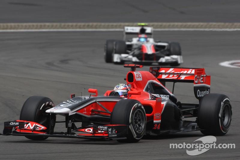 Marussia Virgin German GP - Nurburgring Race Report