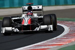 Formula 1 HRT Hungarian GP Qualifying Report