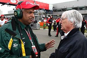Formula 1 Team Lotus boss to buy Ecclestone's QPR stake
