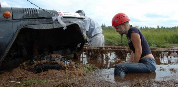 In the deep end at Russia's Pro-X Trophy
