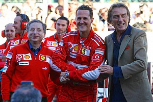 Formula 1 Ferrari feature - Thank you Michael and very best wishes
