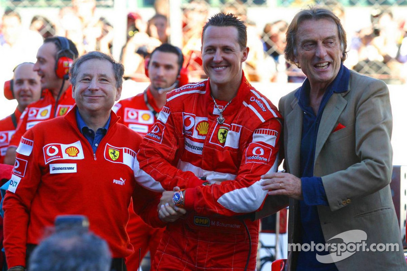 Ferrari feature - Thank you Michael and very best wishes