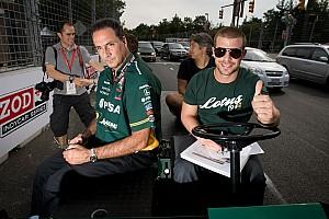 IndyCar KV Racing  - Lotus Baltimore qualifying report