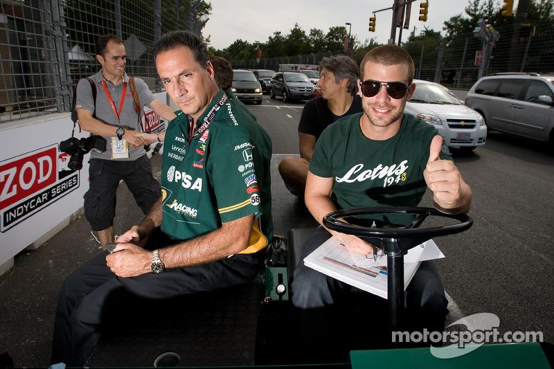 KV Racing  - Lotus Baltimore qualifying report