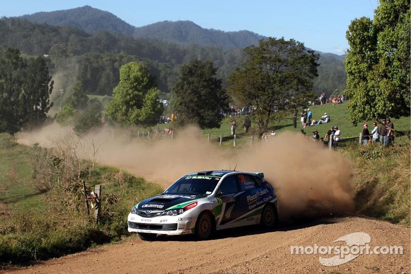 Support class Rally Australia final leg summary