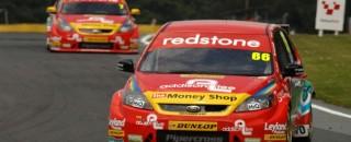 BTCC Caine gets 3rd Airwaves Racing Ford