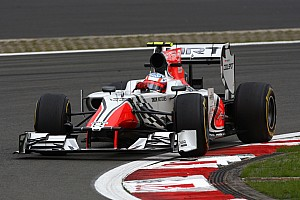 Formula 1 Karthikeyan to return to the HRT cockpit in Singapore