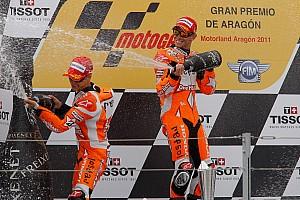 MotoGP Bridgestone  Aragon GP race report