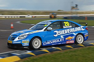 BTCC Alex MacDowall Rockingham event summary