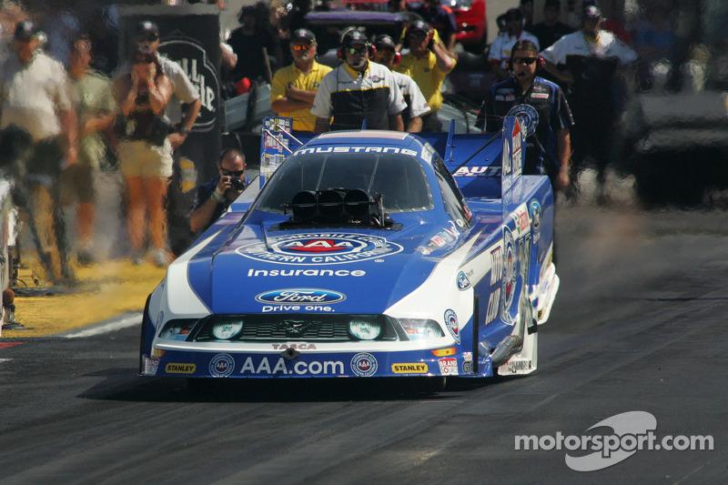 John Force Racing Dallas Friday report