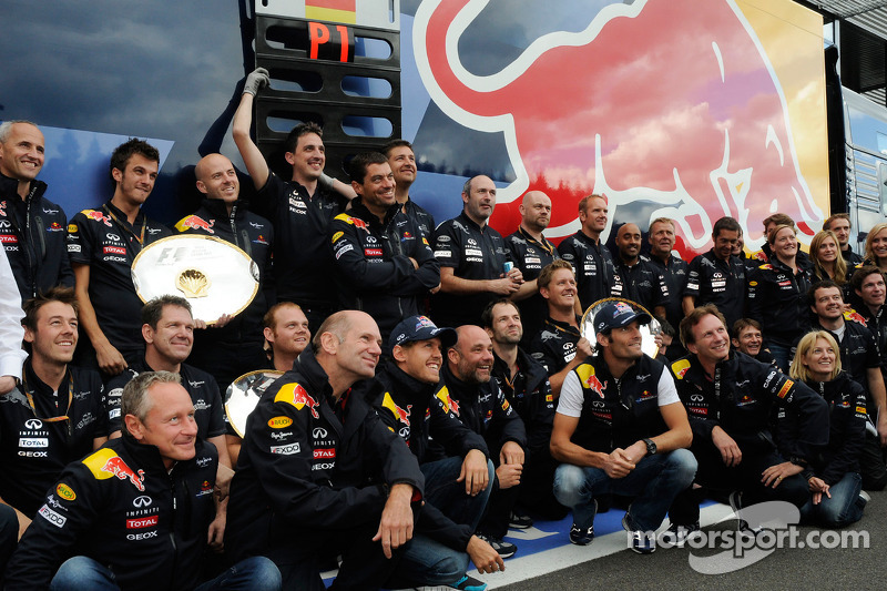 Back to back titles 'really not easy' - Newey