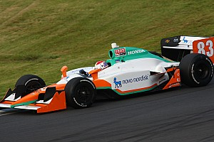 IndyCar CGR's Charlie Kimball Kentucky race report