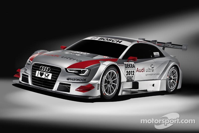 Tom Kristensen in the new Audi A5 DTM during season finale at Hockenheim