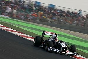 Formula 1 Williams Indian GP race report