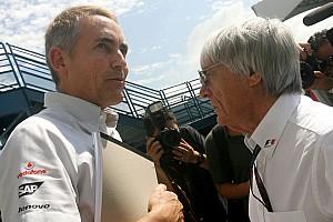 Formula 1 Whitmarsh opposed to new customer car push