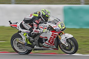 MotoGP LCR Honda Valencia GP Friday report