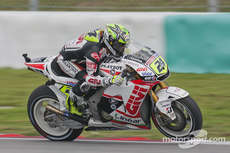 LCR Honda Valencia GP Friday report