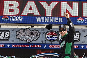 NASCAR XFINITY Trevor Bayne scores his first series win at Texas