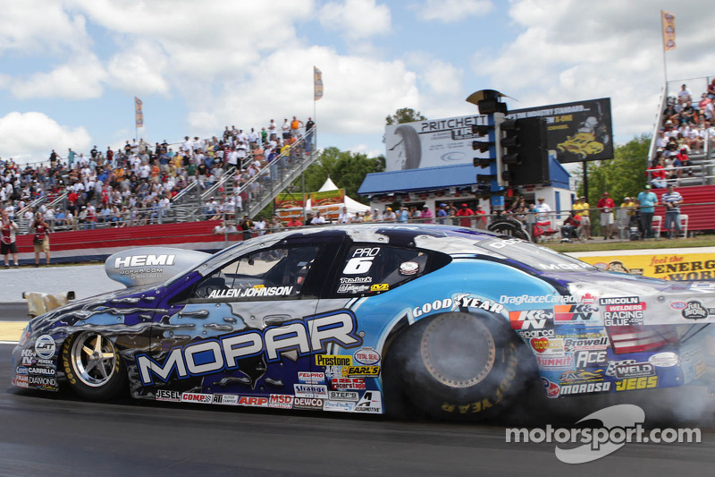 Allen Johnson looks for a win at Pomona II