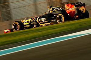 Formula 1 Lotus Renault Abu Dhabi GP qualifying report