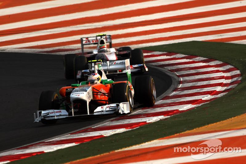 Force India Abu Dhabi GP race report