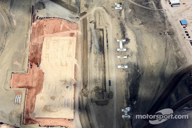Construction halts as 2012 US GP crisis deepens