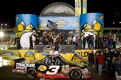 Chevy drivers win championship and Rookie of the year
