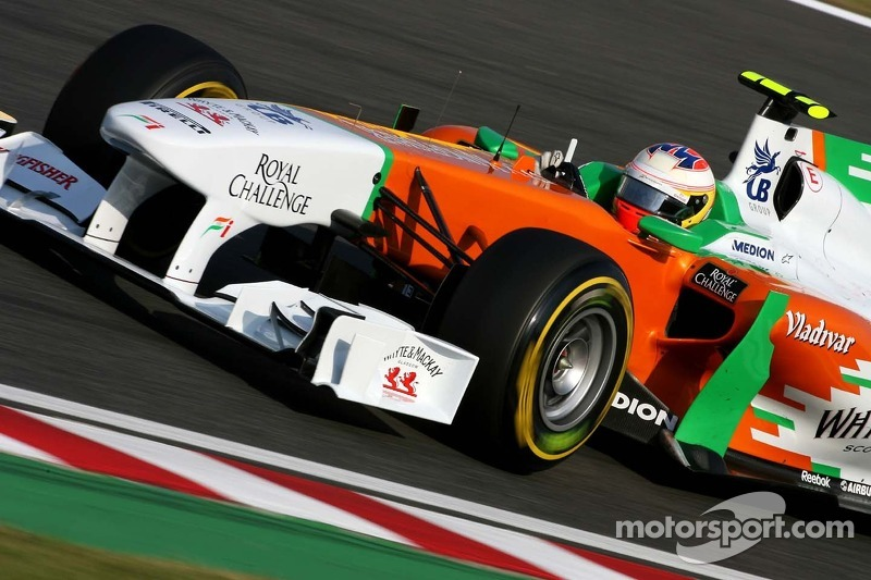 Force India finally confirms 2012 driver line-up