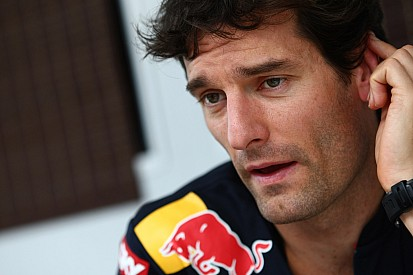 Webber enjoys wheelie on Grand Prix motorbike