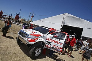 Dakar Imperial Toyota stage 2 report