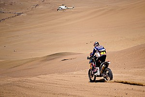 Dakar Despres wins stage 9 to take back overall Bike lead
