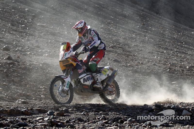 MRW KTM stage 11 report