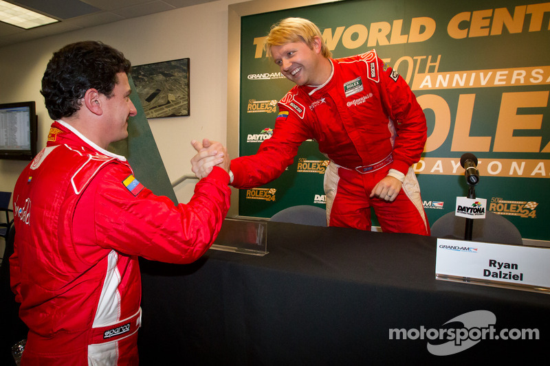 Starworks Motorsport's Dalziel claims Daytona 24H pole