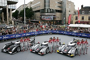 WEC Audi ready for 2012 title fight, Le Mans victory