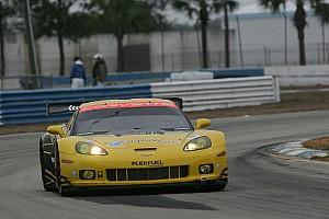 ALMS Corvette Racing winter test summary
