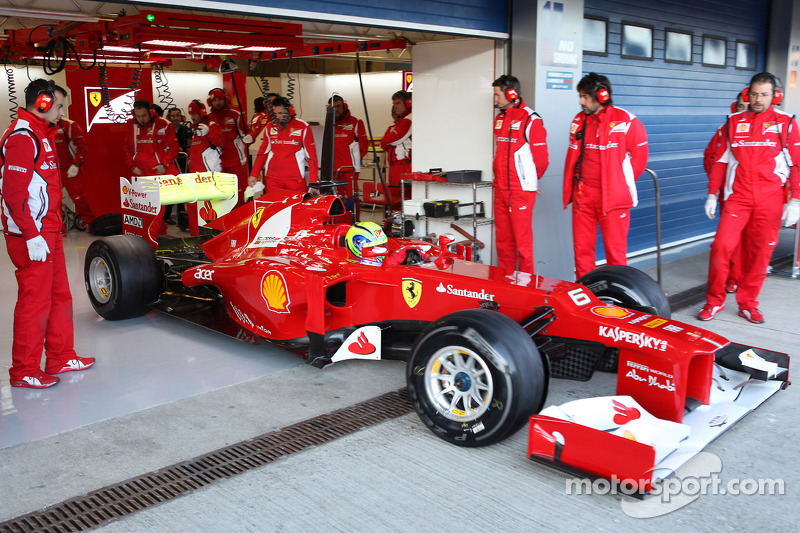 "Felipe Massa: ""A lot of work ahead of us, but the F2012 shows plenty of potential"""