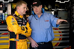 NASCAR Cup Daytona 500 media day visit: McMurray, Burton and Harvick