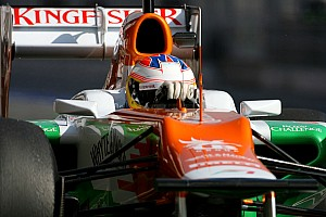 Formula 1 Force India Barcelona test II -  Day 1 report