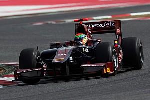 GP2 Fabrizio Crestani sets the pace in Barcelona