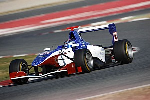 GP3 Trident Racing Barcelona test summary