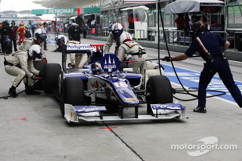 Trident Racing Sepang race 1 report