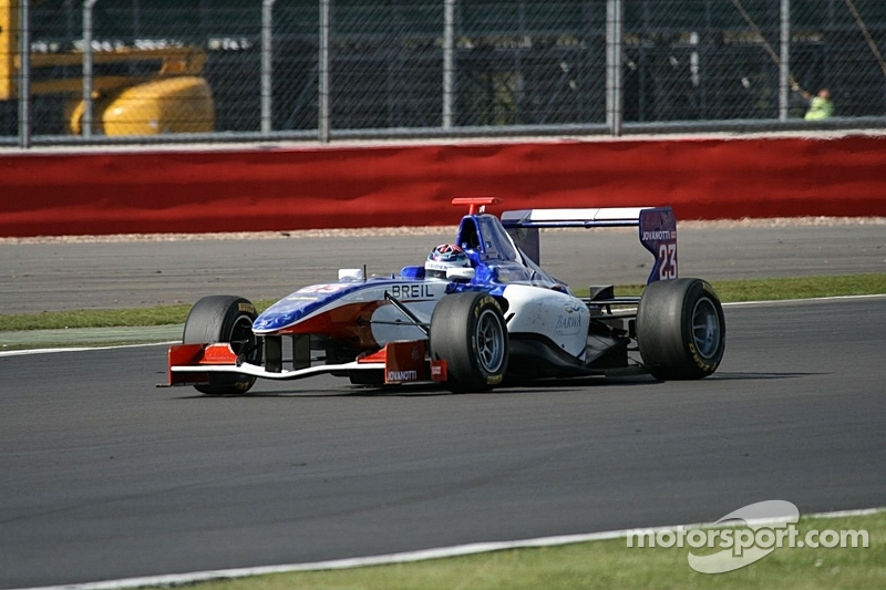 Trident Racing Silverstone test summary
