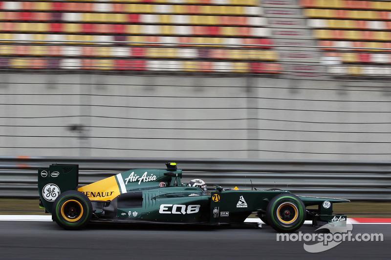 Caterham Chinese GP - Shanghai Friday report