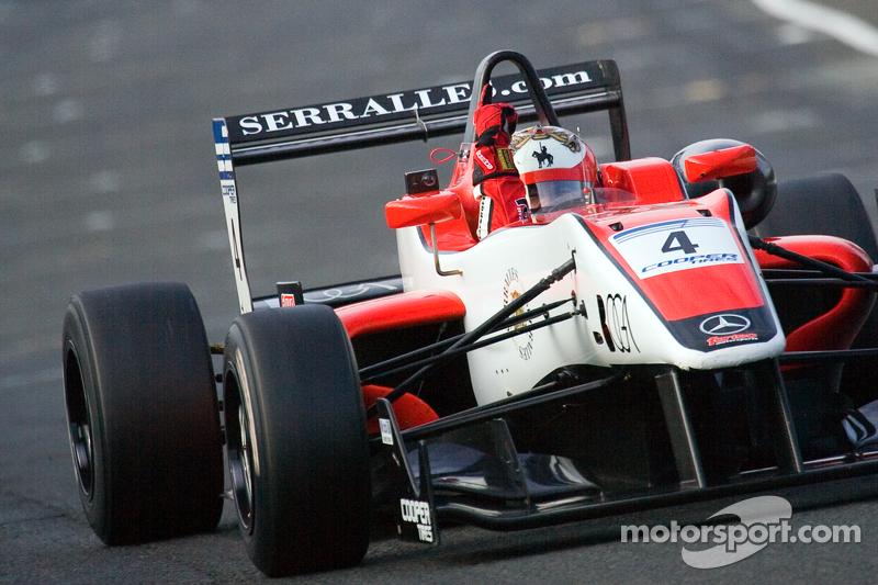 Sainz and Serralles battle it out for Monza pole slots
