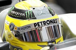 Formula 1 Bird hits Rosberg's helmet in Bahrain practice