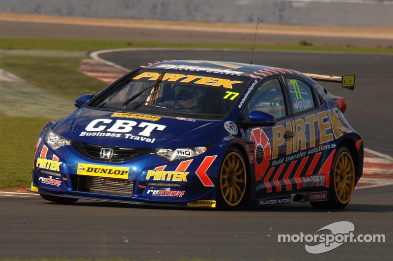 Jordan claims second career series pole as he flies at Thruxton