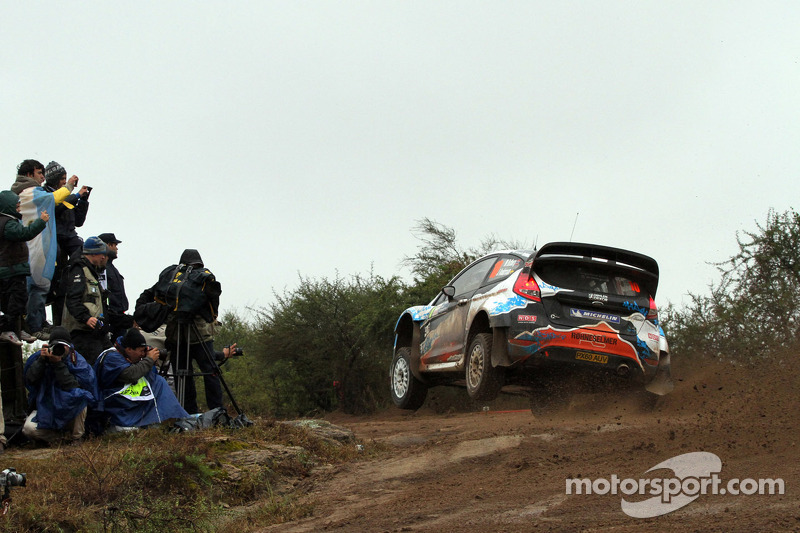M-Sport Elsewhere Rally Argentina day 2 summary